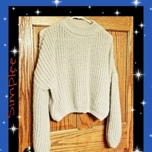 ♦️NEW LISTING ♦️Simplee Cable Knit Sweater